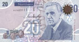Nordirland / Northern Ireland P.211b 20 Pounds 2011 Northern Bank (1)