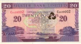 Nordirland / Northern Ireland P.337b 20 Pounds 1999 (1)