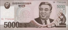 Nordkorea / North Korea P.66 5000 Won 2008 (2009) (1)