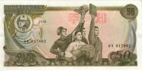 Nordkorea / North Korea P.21b 50 Won 1978 (1)