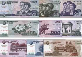Nordkorea / North Korea P.CS 9/17 5 - 5000 Won 2002 (2014) (1)