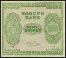 Norwegen / Norway P.27 50 Kronen 1945 (1)