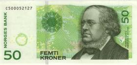 Norwegen / Norway P.46c 50 Kronen 2008 (1)