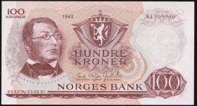 Norwegen / Norway P.38a 100 Kronen 1962 (1)