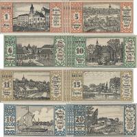 Notgeld Berliner Stadtbezirke 20 x 50 Pf. 1921