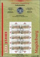 2005/4 Magdeburg - Numisblatt