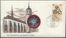 D-021 • Martin Luther > im Etui
