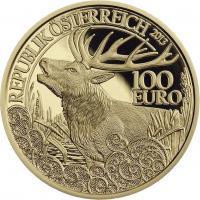 Österreich 100 Euro 2013 Rothirsch