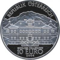 Österreich 10 Euro 2004 Schloß Hellbrunn, PP
