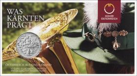 Österreich 10 Euro 2012 Kärnten Silber