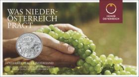 Österreich 10 Euro 2013 Niederösterreich Silber
