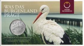 Österreich 10 Euro 2015 Burgenland Silber