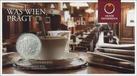 Österreich 10 Euro 2015 Wien Silber