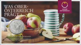 Österreich 10 Euro 2016 Oberösterreich Silber