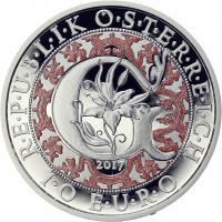 Österreich 10 Euro 2017 Garbriel - Der Verkündigungsengel Silber PP