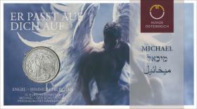 Österreich 10 Euro 2017 Michael - Der Schutzengel Silber