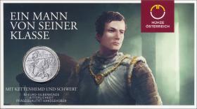 Österreich 10 Euro 2019 Ritterlichkeit  Silber
