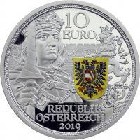 Österreich 10 Euro 2019 Ritterlichkeit Silber PP