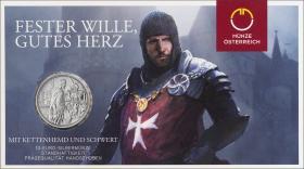 Österreich 10 Euro 2020 Standhaftigkeit Silber