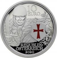 Österreich 10 Euro 2020 Tapferkeit Silber PP