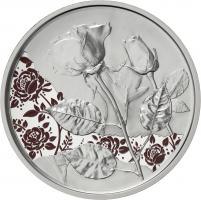 Österreich 10 Euro 2021 Die Rose Silber PP