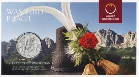 Österreich 10 Euro 2014 Tirol Silber