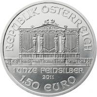 Österreich 1,5 Euro 2011 Philharmoniker (Unze)