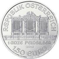 Österreich 1,5 Euro 2019 Philharmoniker (Unze)