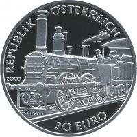 Österreich 20 Euro 2003 Biedermeier/ Fürst Metternich