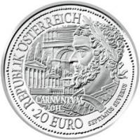 Österreich 20 Euro 2011 Septimus Severus/ Carnuntum