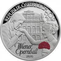 Österreich 20 Euro 2016 Wiener Opernball PP