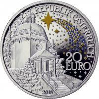 Österreich 20 Euro 2018 Stille Nacht PP