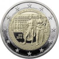 Österreich 2 Euro 2016 200 J. Nationalbank PP