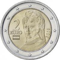 Österreich 2 Euro 2019 Kursmünze