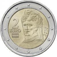 Österreich 2 Euro 2020 Kursmünze