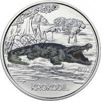 Österreich 3 Euro 2017 Krokodil