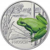 Österreich 3 Euro 2018 Frosch