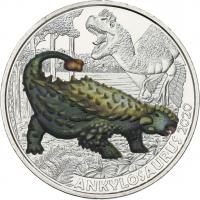 Österreich 3 Euro 2020 Ankylosaurus