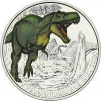 Österreich 3 Euro 2020 Tyrannosaurus rex