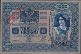 Österreich / Austria P.048 1000 Kronen 1920 MUSTER (1)