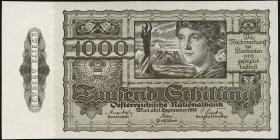 Österreich / Austria P.125 1000 Schilling 1947 (2+)