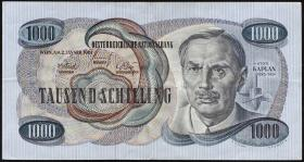 Österreich / Austria P.141 1000 Schilling 1961 (62) (3)