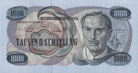 Österreich / Austria P.141 1000 Schilling 1961 (62) (1)