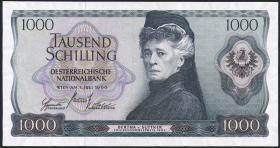 Österreich / Austria P.147 1000 Schilling 1966 (70) (2+)