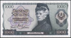 Österreich / Austria P.147 1000 Schilling 1966 (70) (1/1-)