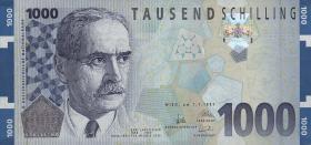 Österreich / Austria P.155 1000 Schilling 1997 (1)