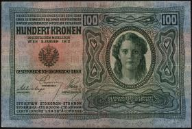 Österreich / Austria P.012 100 Kronen 1912 (2)