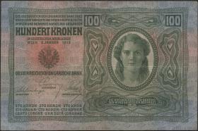 Österreich / Austria P.012 100 Kronen 1912 (3)