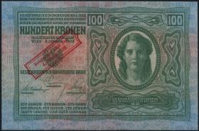 Österreich / Austria P.047 100 Kronen 1920 (1/1-)