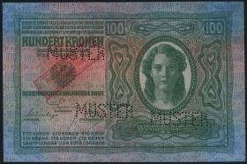 Österreich / Austria P.047 100 Kronen 1920 MUSTER (1/1-)